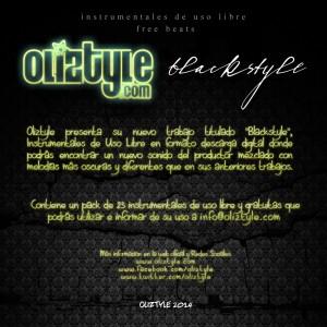 Trasera: Oliztyle - Blackstyle (Instrumentales)