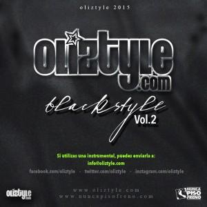 Trasera: Oliztyle - Blackstyle Vol. 2 (Instrumentales)