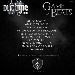 Trasera: Oliztyle - Game of beats (Instrumentales)