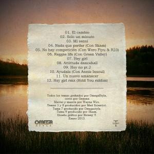 Trasera: Omegastyle - Un nuevo amanecer