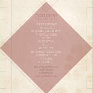 Deltantera: Orient Express - Beat tape 1 (Instrumentales)