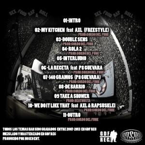 Trasera: Original Juan - Rap&Roll