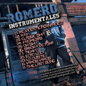 Trasera: P. Romero - Instrumentales Vol. 5