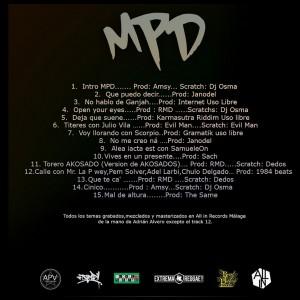 Trasera: Pab'Loparte - MPD (Música para despiertos)