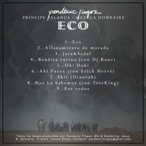 Trasera: Pandemic fingaz - Eco