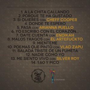 Trasera: Pekeño y Beatupbeats - A la chita callando