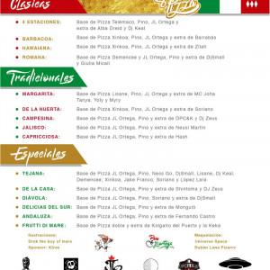 Trasera: Pino y JL Ortega Beatz - Pizza
