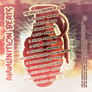 Trasera: Produccion HipHop - Ammunition beats