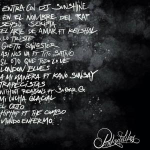Trasera: Psikodelikos - En el nombre del Rap