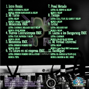 Trasera: Punto de encuentro estudios - Skl69 The mixtape