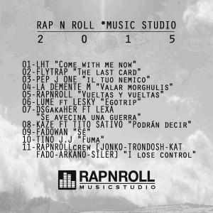 Trasera: Rap N Roll - 2015