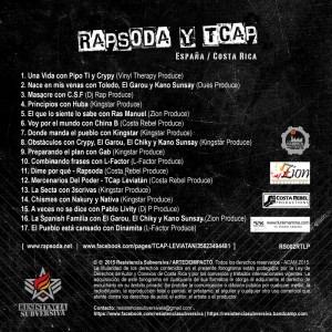 Trasera: Rapsoda y Tcap Leviatan - España/Costa Rica