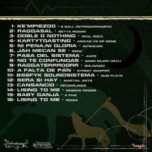Trasera: Rapsusklei - El raggampazo mix