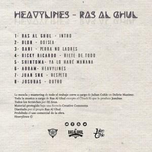 Trasera: Ras Al Ghul - Heavylines