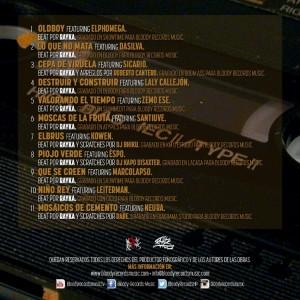 Trasera: Rayka - Dirty tape