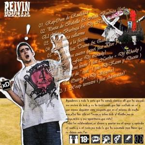Trasera: Reivin - Desafio a la realidad