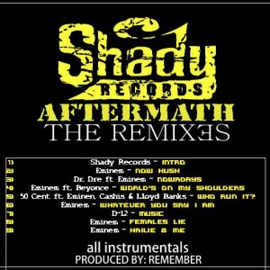 Trasera: Remember - Shady aftermath remixes