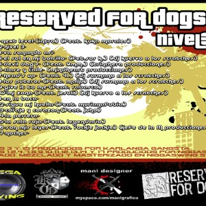 Trasera: Reserved 4 dogs - Nivel 3