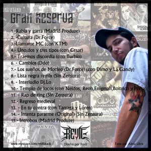 Trasera: Revil - Gran reserva Vol. 1