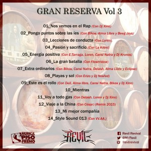 Trasera: Revil - Gran reserva Vol. 3