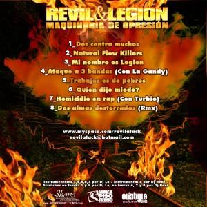 Trasera: Revil y Legion - Maquinaria de opresion