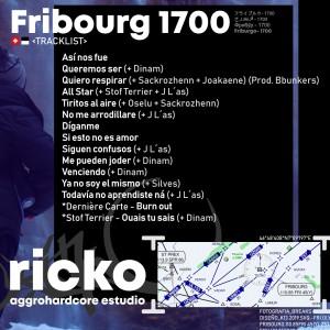 Trasera: Ricko - Fribourg 1700