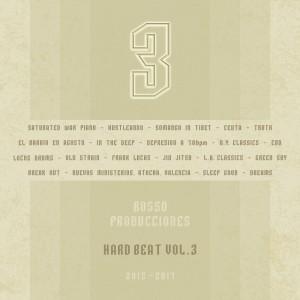 Trasera: Rosso producciones - Hard beat Vol. 3 (Instrumentales)