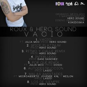 Trasera: Roux y Hero Sound - Vacio