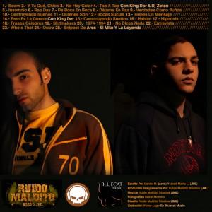 Trasera: Ruido Maldito Studios - Ares Y JML
