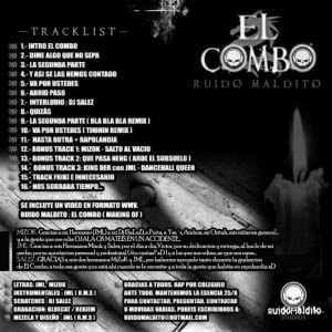 Trasera: Ruido Maldito Studios - El Combo