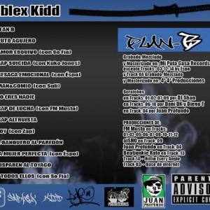 Trasera: Sablex Kidd - Plan B