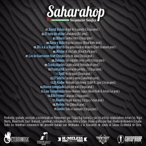 Trasera: Saharahop - Volumen 1