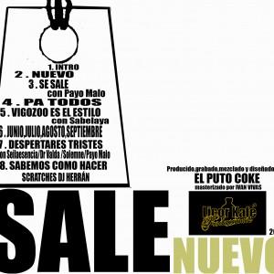 Trasera: Sale - Nuevo