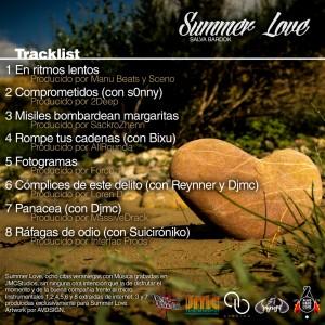 Trasera: Salva Bardok - Summer love