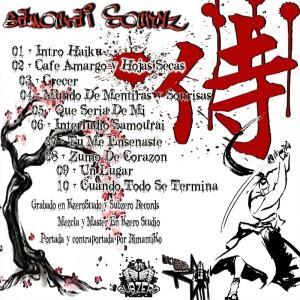 Trasera: Samourai soundz - Haiku