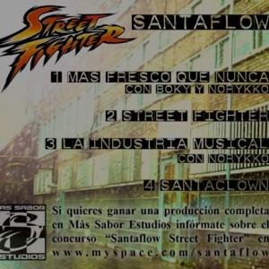 Trasera: Santaflow - Street fighter