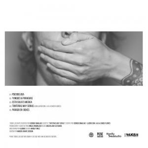 Trasera: Sergio Sinalias y Vinilo vandalico - Esto solo es música