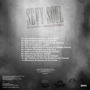 Trasera: Sevy Soul - Freedom