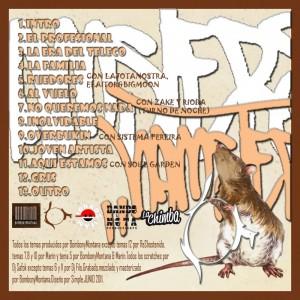 Trasera: Simple y Bombony Montana - Hamsters