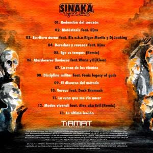Trasera: Sinaka Space Juan - Criterio de autoridad