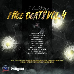 Trasera: Skulltime beats - Free beats Vol. 4 (Instrumentales)