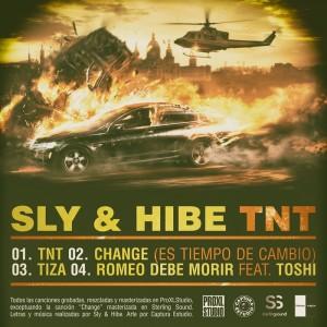 Trasera: Slider y Hibe - TNT