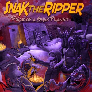 Deltantera: Snak The Ripper - Fear of a snak planet