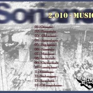 Trasera: Soriano - 2010 Music (Instrumentales)