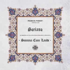 Deltantera: Soriano - Summa cum laude