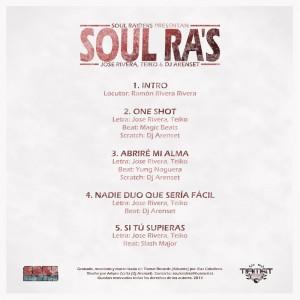 Trasera: Soul raiders - Soul ra's