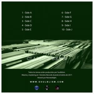 Trasera: Soulblism - Invisible classics beats (Instrumentales)