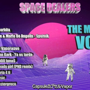 Trasera: Space dealers - Mixtape Vol. 1