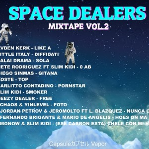 Trasera: Space dealers - Mixtape Vol. 2