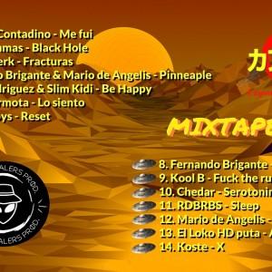 Trasera: Space dealers - Mixtape Vol. 3